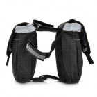 Roswheel Bicicleta Ciclismo Bike Tube Top Double Bag - Negro