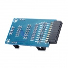 JLINK V7 JLINK V8 Adapter Board Compatível com Mini 2440/2440 / 44B0 / 6410 - Azul