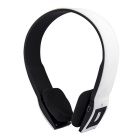 Bluetooth V3.0 + EDR MP3 Player Stereo Headset - White