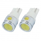 T10 2.5W 100lm 4-LED White Light Car Steering Lamp Bulbs (2 PCS)