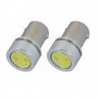 BA9S 1W 50lm 1-SMD LED White Light Car Fog Lamp Bulbs (2 PCS)