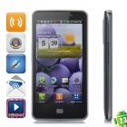 "LG LU6200 Android 2.3 WCDMA Cellphone w/ 4.5"" Capacitive Screen, GPS, Wi-Fi and Single-SIM - Black"