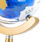 1000mW 2.4GHz Globe Style 802.11 b/g USB 54Mbps Wi-Fi Wireless Network Adapter - Blue + Golden
