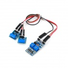 2-Channel 4 Pins NC Type Shock Switch Sensor Module