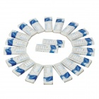 Electronic Cigarette Cartridge Refills - Rum Flavor (White / 20 x 10 PCS)