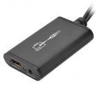 LKV325 1080p USB 2.0 to HDMI Converter w/ 3.5mm Audio Cable - Black