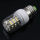 E27 3.8W 3500K 300lm 54-3528 SMD Warm White Light Bulb (AC 85~265V)