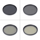 Adjustable Variable Neutral Density Fader Filter - Black (82mm)
