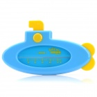 Cute Submarine Shaped Thermometer - Blue + Yellow
