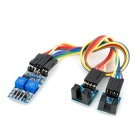 2 Channel Slotted Optical Switch Speed Detect Velocity Sensor Module
