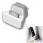 BlueLounge USB to Apple 30 Pin Charger Dock für iPod / iPad / iPhone - Grau + Weiß
