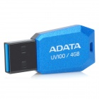 ADATA DashDrive UV100 USB 2.0 Flash Drive - Blue (4 Гб)
