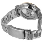 Genuine IK Colouring Man's Stainless Steel Band Mechanical Waterproof Wrist Watch - Golden + Silver