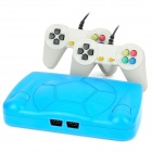 248 FC Games Classic Video Game System w/ 2 Wired Controllers - Blue