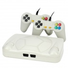 248 FC-Spiele Classic Video Game System w / 2 Wired Gamepads - White