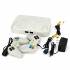 248 FC Games Classic  Video Game System w/ 2 Wired Gamepads - White