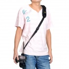 CADEN Quick Rapid Shoulder Belt Strap for All DSLR Camera - Black