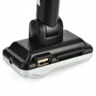 "1.0"" LCD Bluetooth Handsfree Car MP3 Player FM Transmitter w/ SD - Silver"