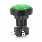 DIY Push Button Switch - Black + Green