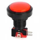 DIY Power Control Switch Button - Black + Red (DC 12V)
