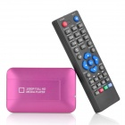 Mini 1080P Full HD Media Center Player w/ HMDI / AV / USB - Purple + White