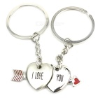 I-Love-You Couple's Magic Keychain (2-Piece Set)