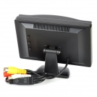 "5.0"" LED Display Screen Car Rear-View Stand Security Monitor - Black (480 x 234 Pixels)"