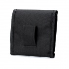 3-Pocket Anti-Shock Lens Filter Storage Carrying Case Bag - Black