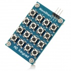 DIY 16-Key AD Keypad Module - Blue