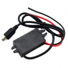 DC 12V to DC 5V Mini USB Car Charger Step-Down Module for Cell Phone - Black