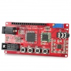 DIY TEA5767 AVR FM Radio Development Module - Red