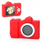 "DC-2001 Mini 1.44"" TFT LCD 300KP 1/3.2"" CMOS Digital Camera - Red"