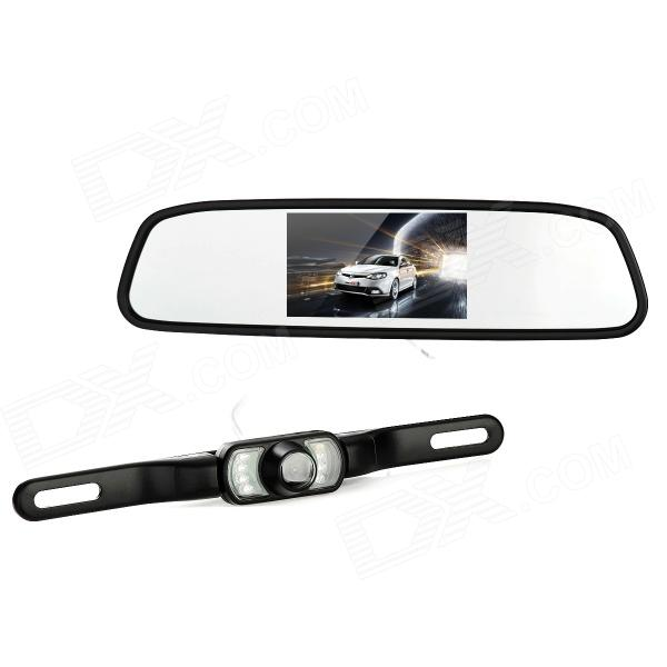"800E 4.3"" Wireless Car Rearview Mirror LCD Monitor Kit - Black Mobile Новые объявления"