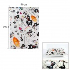 Cute Cartoon Pattern 50 x 70cm Vacuum Storage Bag - White (S-Size)