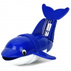 Whale Style Water Resistant Diving Tumbling Toy - Blue + White (2 x AA)