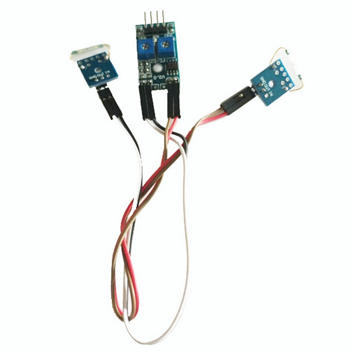2 Channel Reed Switch Sensor Module for Arduino (Works with Official Arduino Boards)