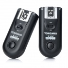 YONGNUO 16-CH Wireless Flash Trigger Transmitter Receiver Set - Black