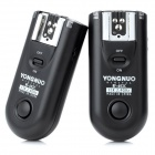 YONGNUO RF-603-C1 16-CH Wireless Flash Trigger Transmitter Receiver Set - Black