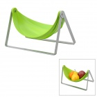 Fashion Creative Fruit Candy Storage Rack - Silver + Green