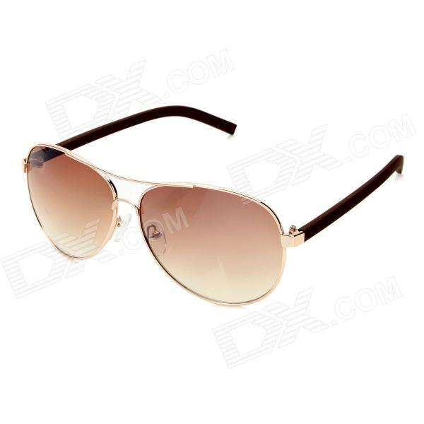 Classic UV400 Protection Sunglasses - Light Golden