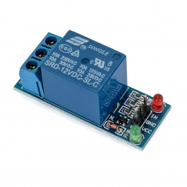 1 Channel 12V Low Level Trigger Relay Module for Arduino (Works with Official Arduino Boards)