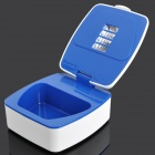 Healthy Denture Ozone UV Sanitizer Cleaner - White + Blue