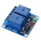2 Channel 5V Low Level Trigger Relay Module for Arduino (Works with Official Arduino Boards)