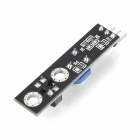 DIY Smart Car Line Hunting Following Sensor Module - Black