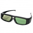 Rechargeable Resin 3D Active Shutter Glasses for Projector - Black