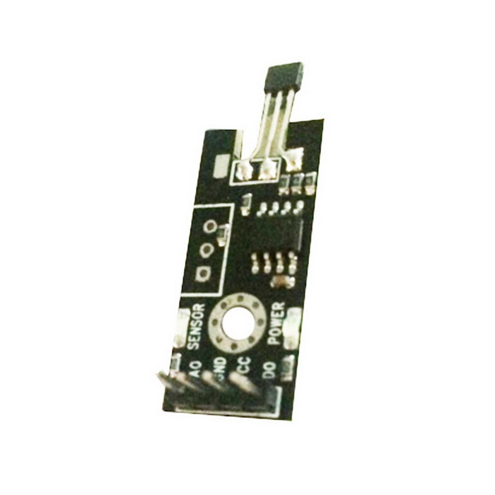 New Hall Sensor Module for Arduino (Works with Official Arduino Boards) 0 36 led 4 digit display module for arduino black blue works with official arduino boards