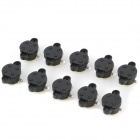 Omni-Directional Vibration Roll Ball Tilt Sensor Switches - Black (DC 24V / 10 PCS)