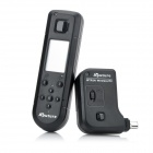 "AP-WTR3N 1.2"" LCD FSK 2.4GHz Wireless Timer Shutter Release Remote Controller for Nikon - Black"