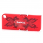 SanDisk Cruzer Pop USB 2.0 Flash Drive - Red (4GB)