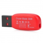 SanDisk CZ50 USB 2.0 Flash Drive - Red + Black (32GB)